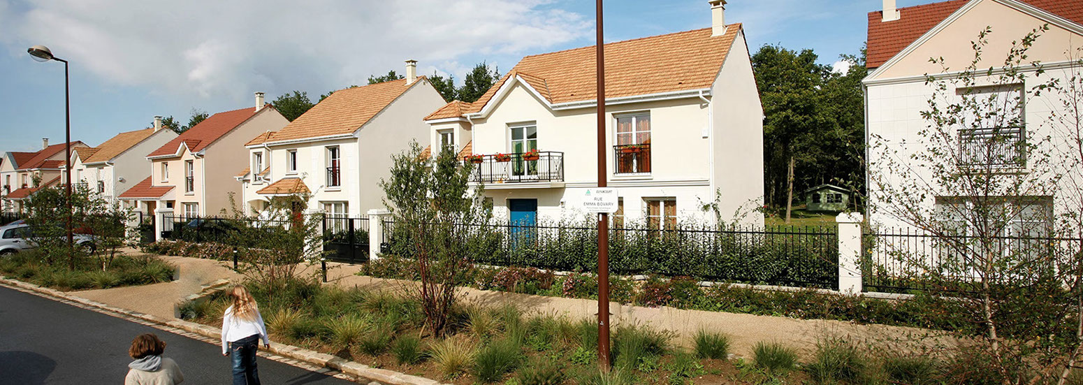 Les jardins de Jarry - Guyancourt