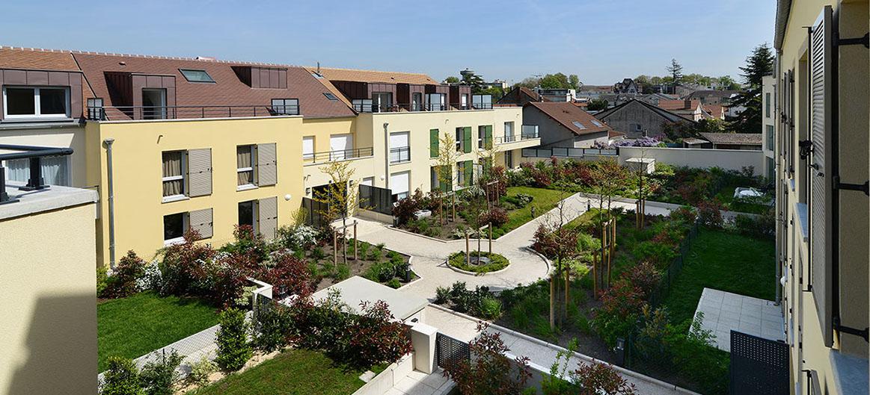Cours et jardins - Rambouillet