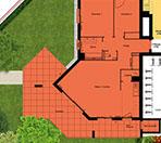 Coeur Village Montigny plan RDC